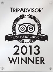 TripAdvisor Travellers' Choice 2013 Winner: BB Inns
